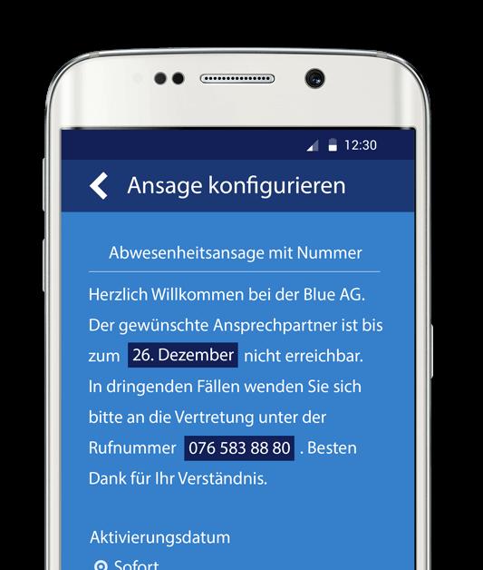 Mobilbox App Handyansagen